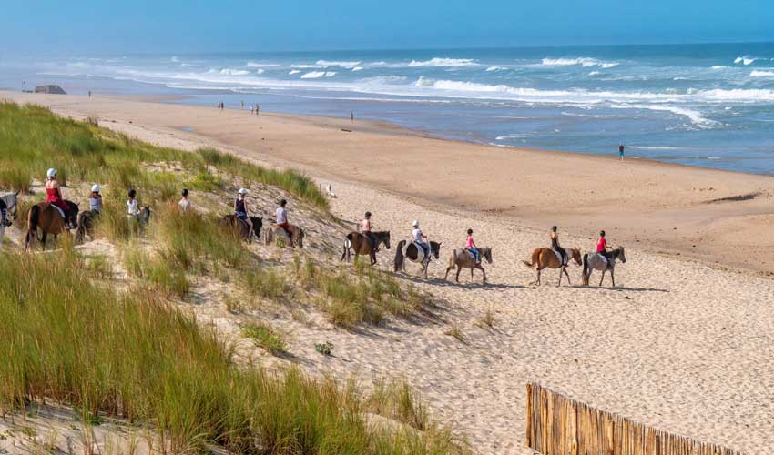 campings famille tohapi plages equitation