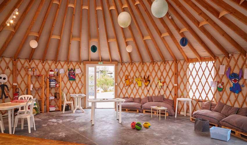 campings parc aquatique tohapi les dunes mini club enfants