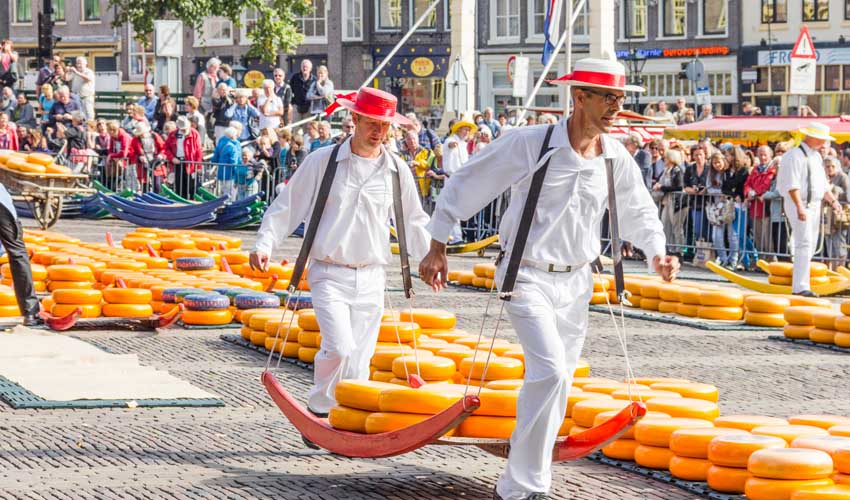 campings pays bas huttopia gouda alkmaar fetes fromageres