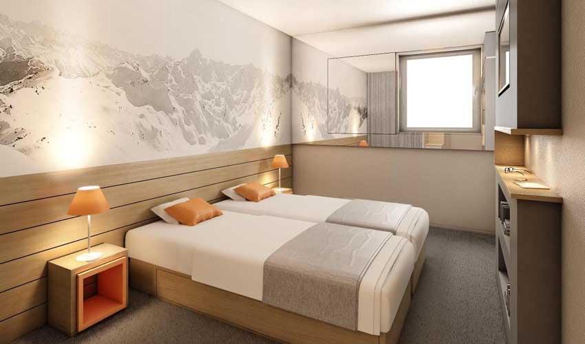 Chambre en hôtel club MMV