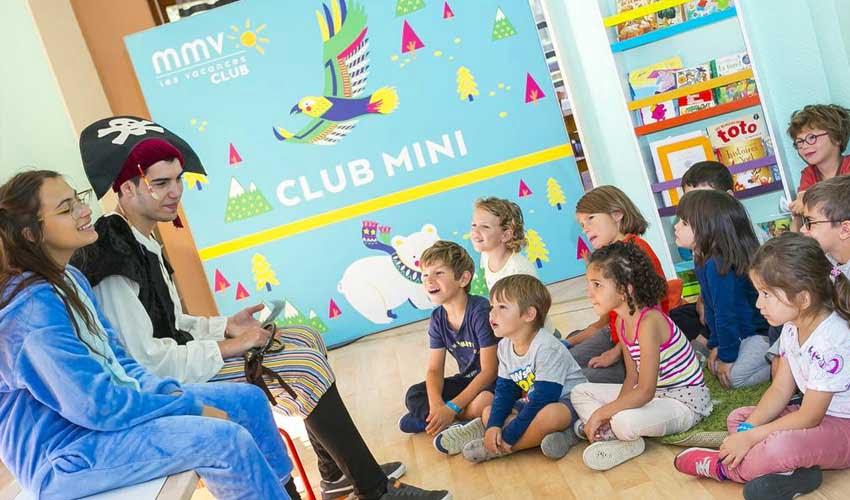 Club enfant en résidence club et hôtel club MMV