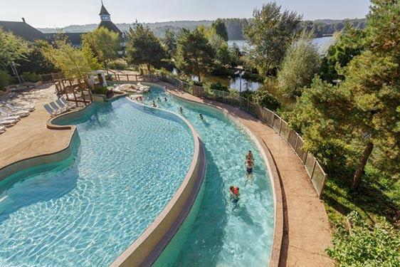 Domaine Center Parcs Lac d'Ailette : Piscine