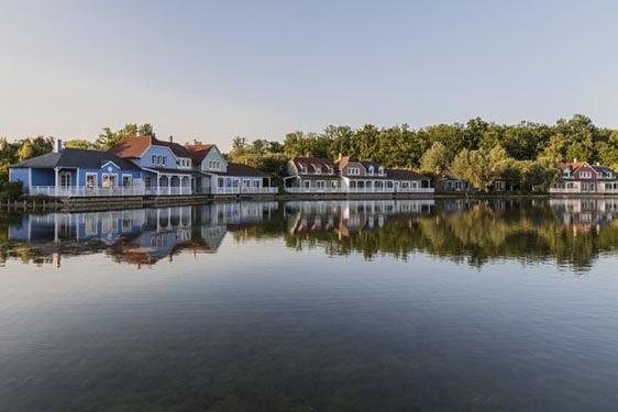 Domaine Center Parcs Lac d'Ailette : Vue générale