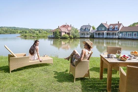 Domaine Center Parcs Lac d'Ailette : Chambres