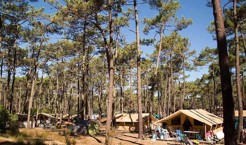 huttopia campings villages et lacs camping lac de carcans