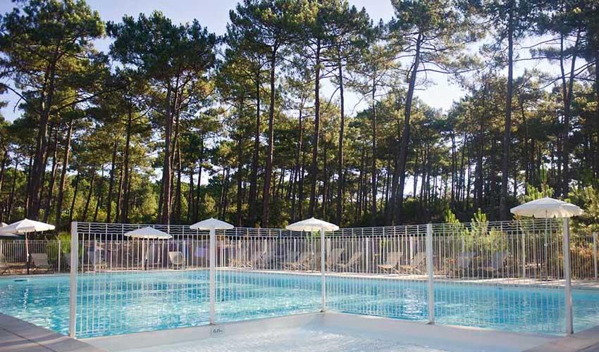 huttopia campings villages et lacs camping lac de carcans piscine