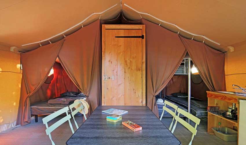 huttopia campings villages et lacs camping lac de carcans tente sweet