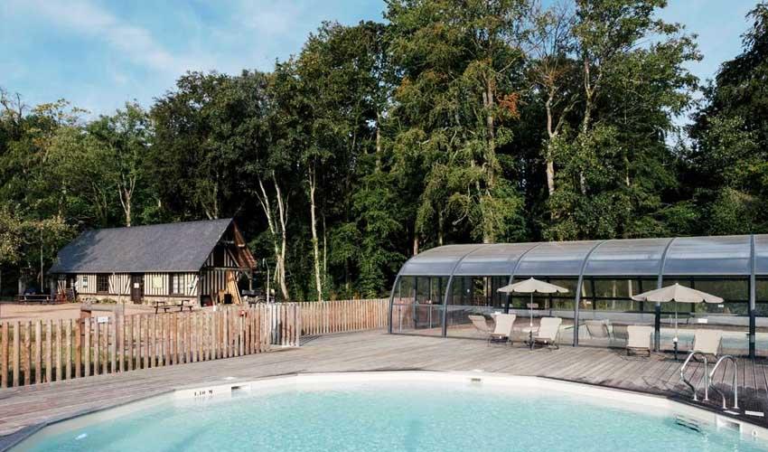 huttopia vacances campagne et terroir camping calvados normandie piscines equipements