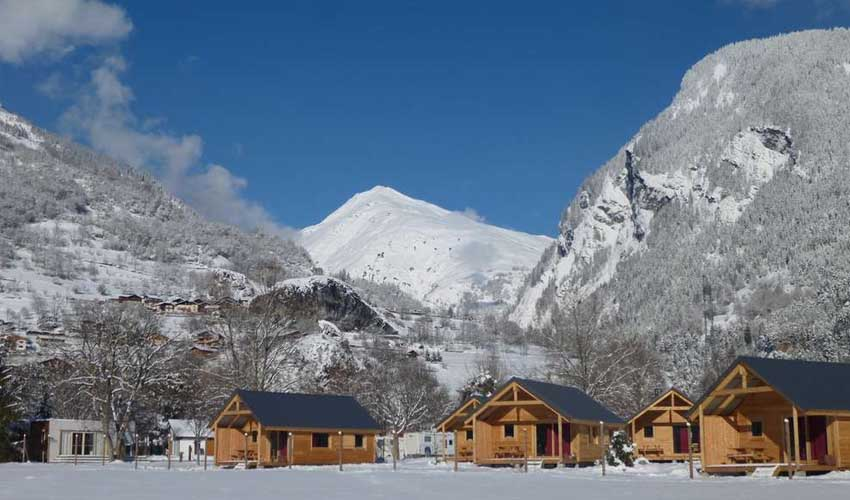 vacances hiver huttopia camping bourg saint maurice