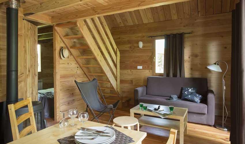 vacances hiver huttopia chalets camping font romeu logement
