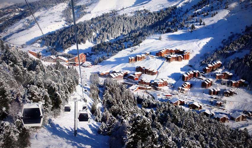 vacances hiver huttopia station meribel pistes de ski