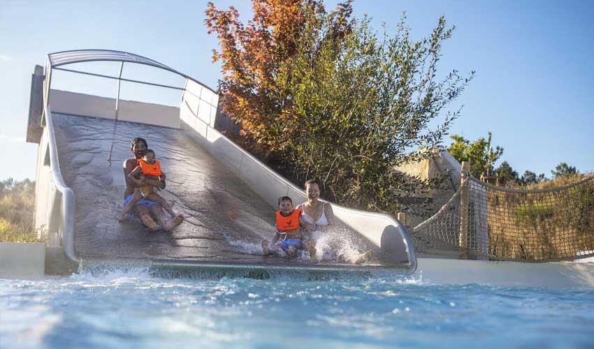vacances nature center parcs aqua mundo toboggans piscine exterieure