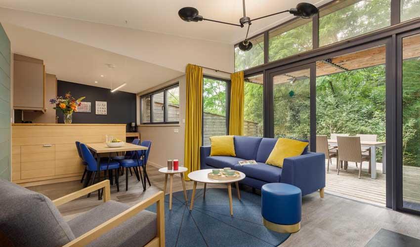 vacances nature center parcs cottage exclusif terrasse foret