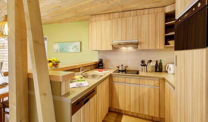 vacances nature center parcs cottage premium cuisine equipee
