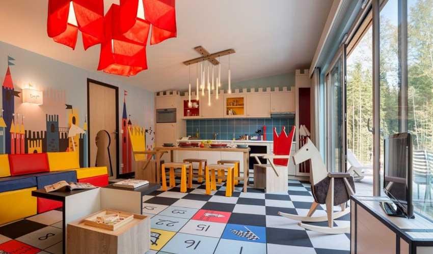 vacances nature center parcs cottage thematique famille
