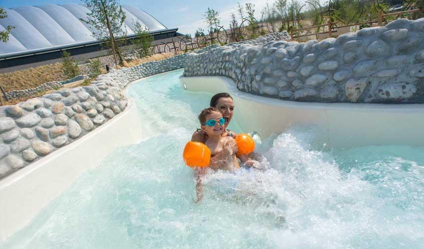 vacances nature center parcs le bois aux daims aqua mundo riviere sauvage