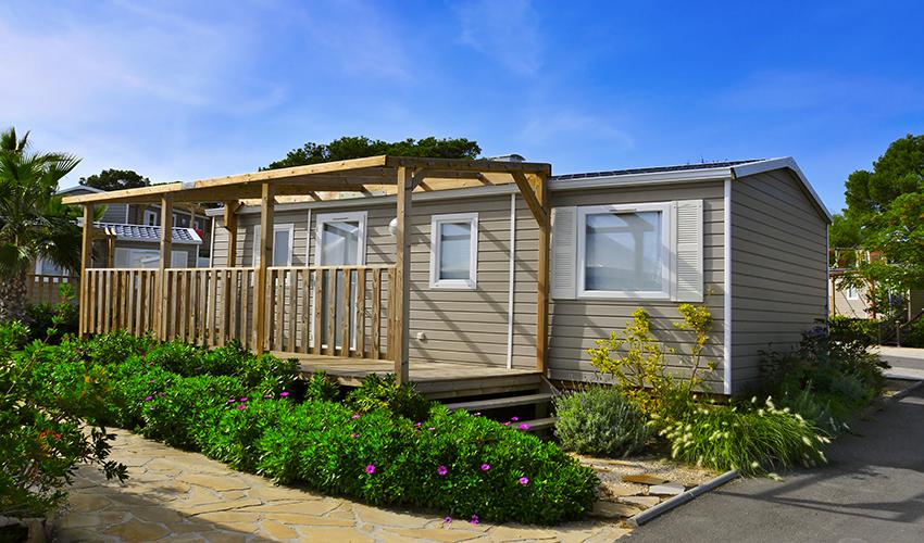 Partez en famille et louez un mobil-home premium au Camping Erreka à Bidart