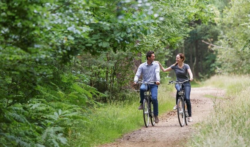 Center Parcs,, le lieu idéal pour de belles balades à vélo
