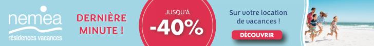 Promo Nemea jusqu'à -40%