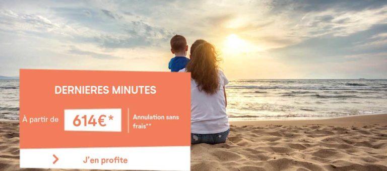 Vacances d'été 2021 dernière minute avec Pierre & Vacances à partir de 614€