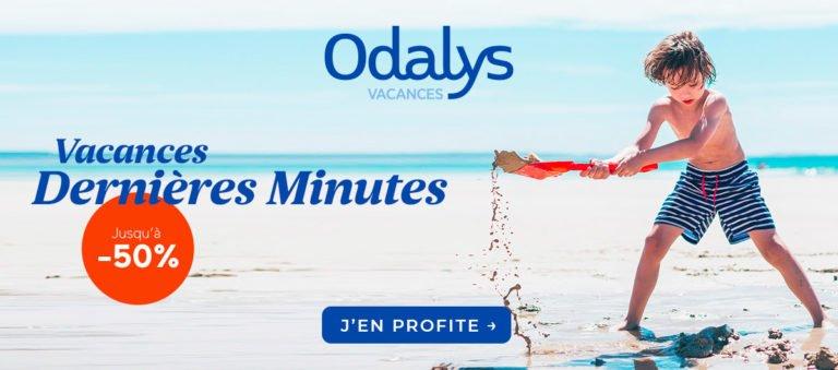 Vacances de dernière minute en juin : jusqu'à - 50% avec Odalys-Vacances