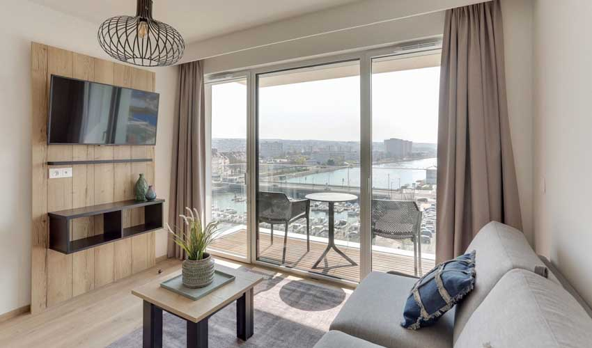 residence boulogne sur mer famille evancy la marina studio
