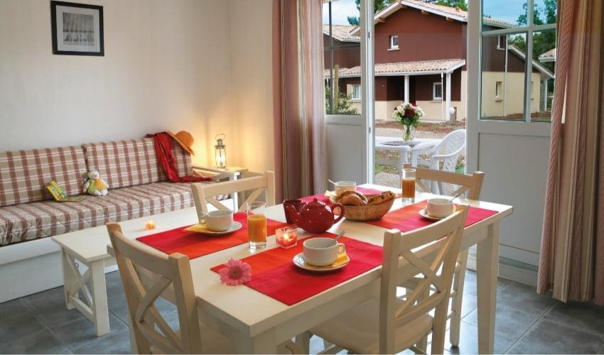Votre logement Nemea à la résidence Saint Brice à Ares