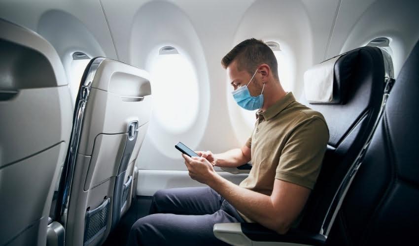 Port du masque obligatoire en avion