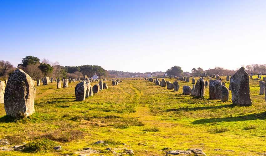 Site mégalithique de Carnac, Morbihan (56)