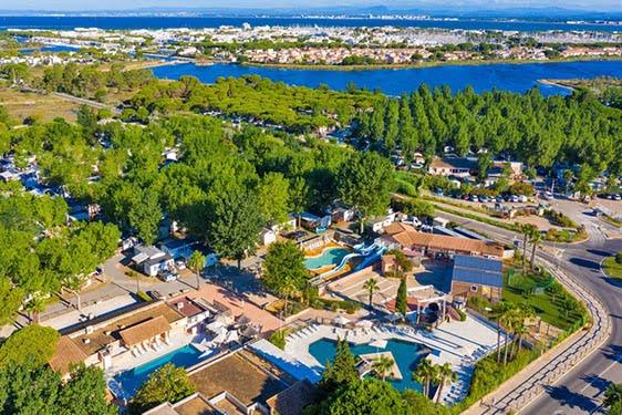 Camping club Tohapi La Marine : Vue générale