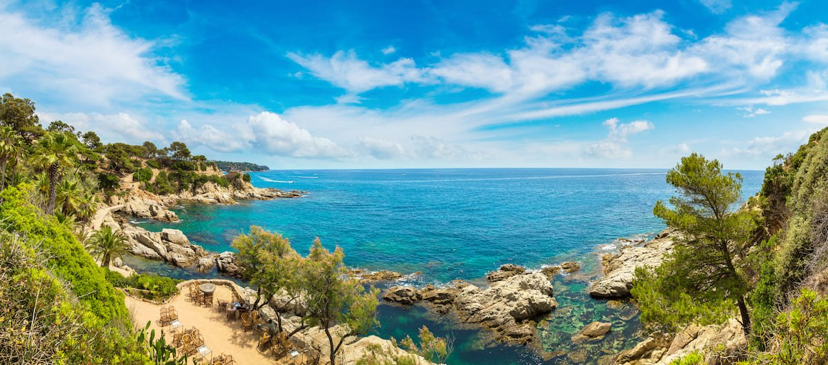 La Costa Brava, une cote sauvage idéale pour un séjour en club vacances.