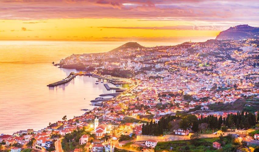 Funchal, la principale de Madère.