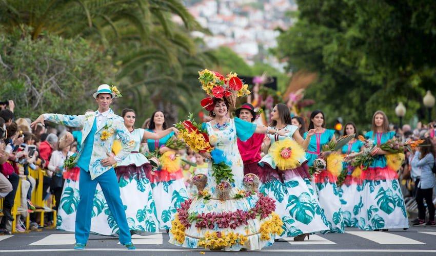Carnaval de Funchal à Madère.