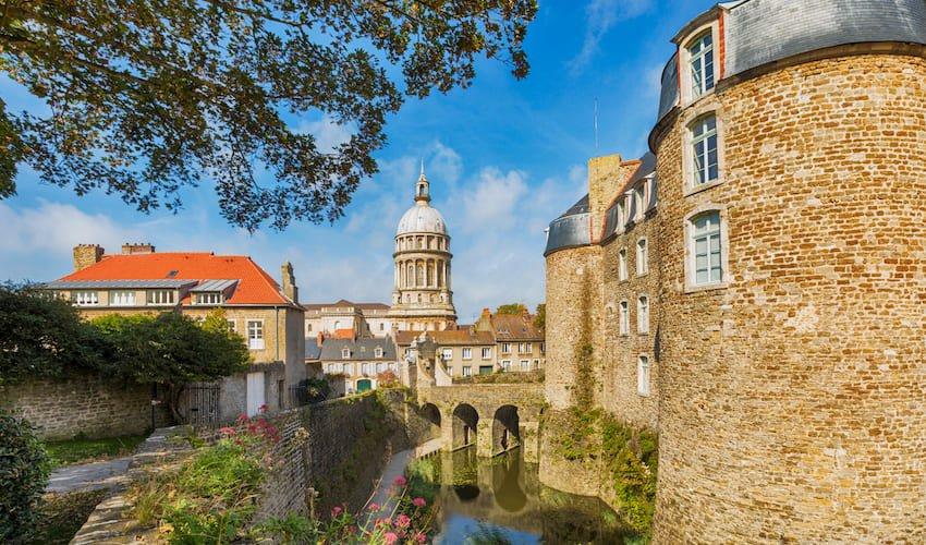 Vieille ville fortifiée de Boulogne-sur-mer.