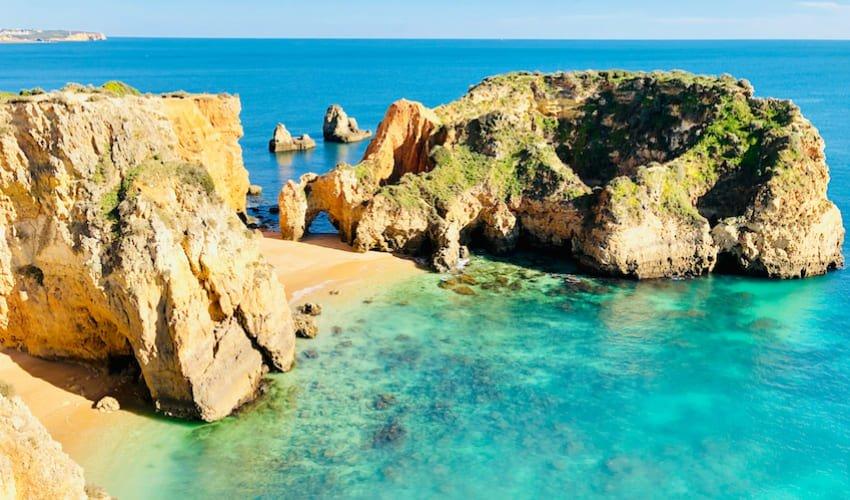 Plonger pour découvrir une épave au large de Portimão