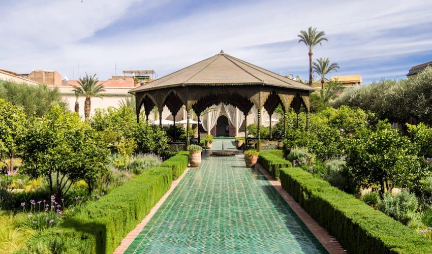 La jardin secret, un havre de verdure dans la Médina de Marrakech.